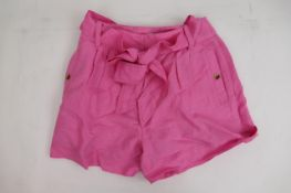 Brand new Women's Topshop pink shorts