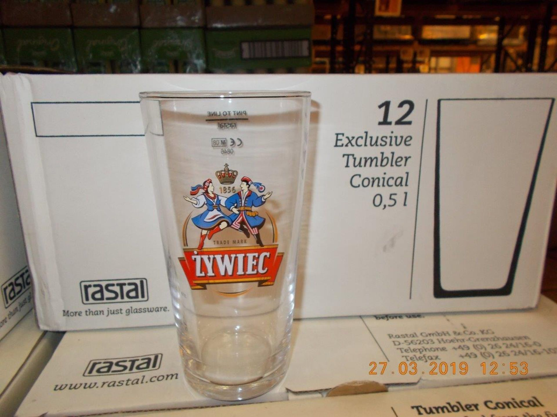 Lot 7 - Pub quality glasses, dishes and more
