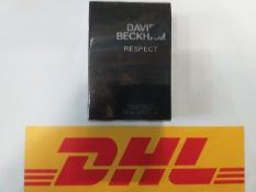 6 David Beckham Respect EDT for men 90ml