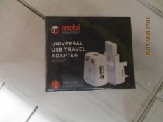 67 Universal USB Travel adaptor