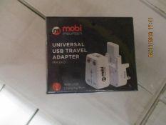 50 Universal USB Travel adaptor