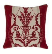 48 Arthouse Leonardo Regal Red Cushion