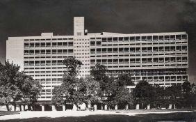 Le Corbusier. – Lucien Hervé (1884-1955)Unité d'Habitation, Marseille. Architektur Le Corbusier,