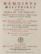 Antike. – Charles Guischardt.Mémoires militaires sur les Grecs et les Romains… avec une
