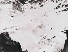 BAUHAUS. – Herbert Bayer(1900-1985). Fotografie. Gletscherlandschaft, um 1930, Abzug um 1964.