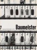 Architektur. – Zeitschrift. – Der Baumeister.20 fortlaufende Jge. in 22 Bdn. 1947-66. Mchn.