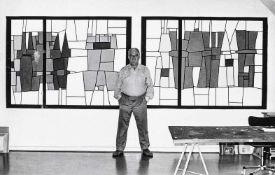 BAUHAUS. – Werner Graeff(1901-1978). Studio Werner Graeff, um 1965, Fotografie, Vintage print. 8,7: