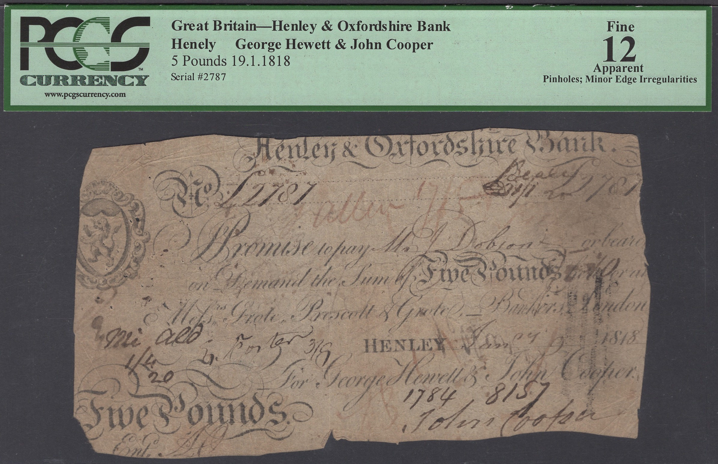 Lot 19 - British Banknotes