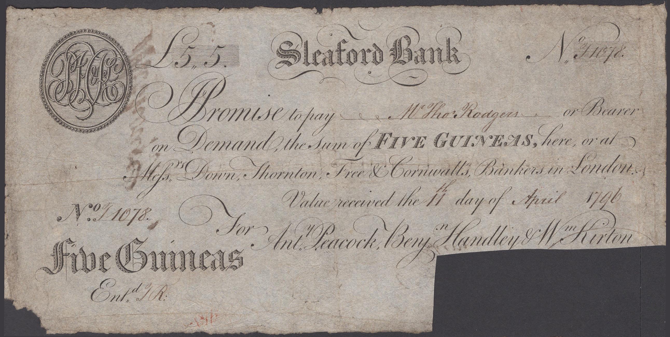Lot 34 - British Banknotes
