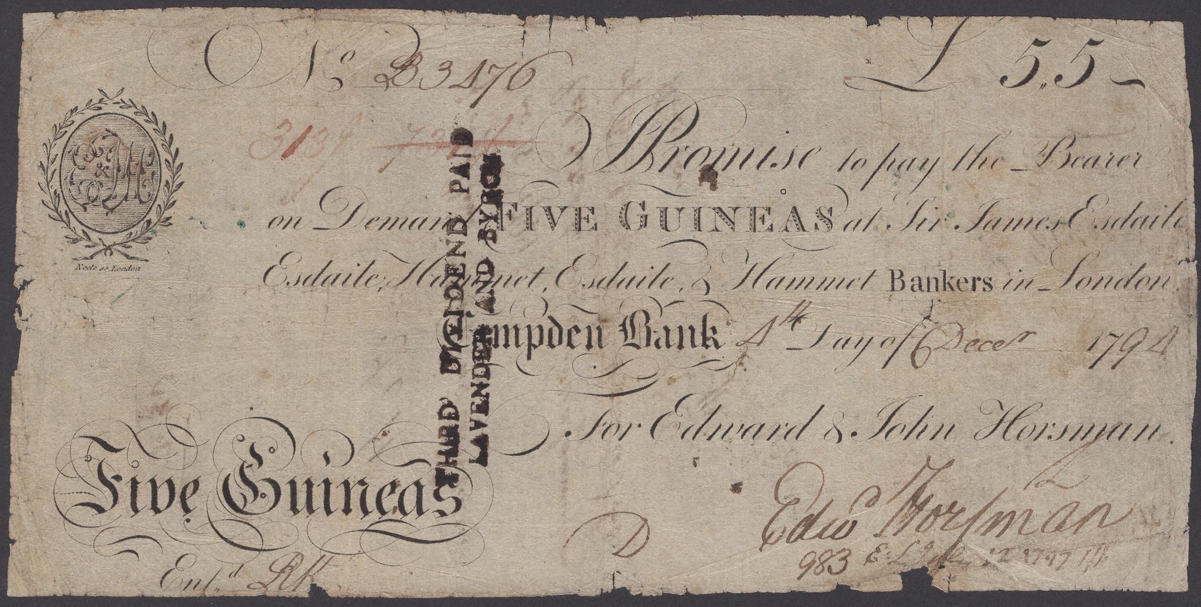 Lot 8 - British Banknotes