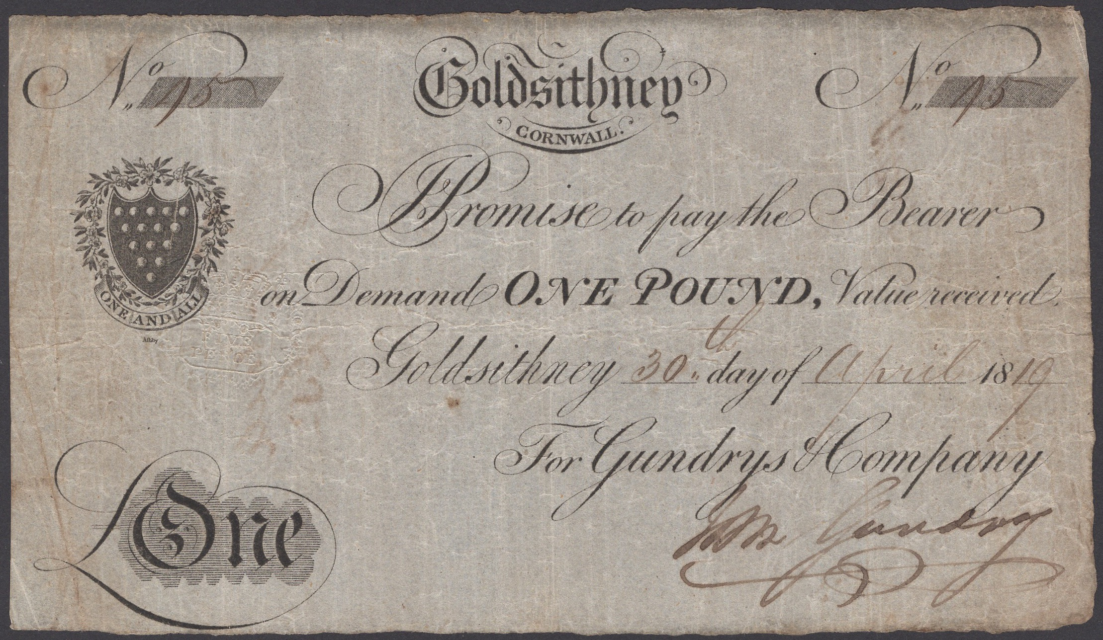 Lot 18 - British Banknotes