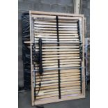 Lot 43 - 1 LOT TO CONTAIN 6 ADJUSTABLE BED FRAMES AND 2 MET