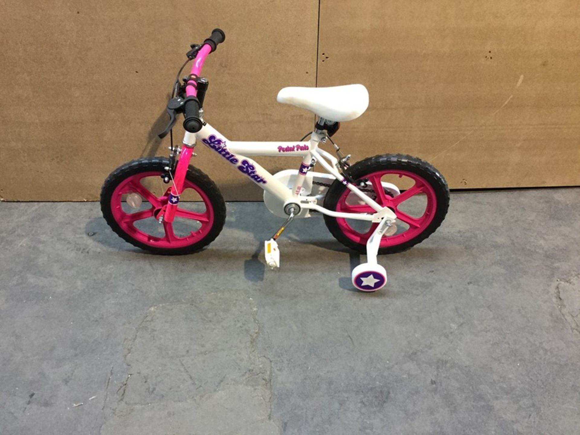 Lot 20 - 1 EX DISPLAY PEDAL PALS LITTLE STAR CHILDRENS BICYCLE RRP £69.99