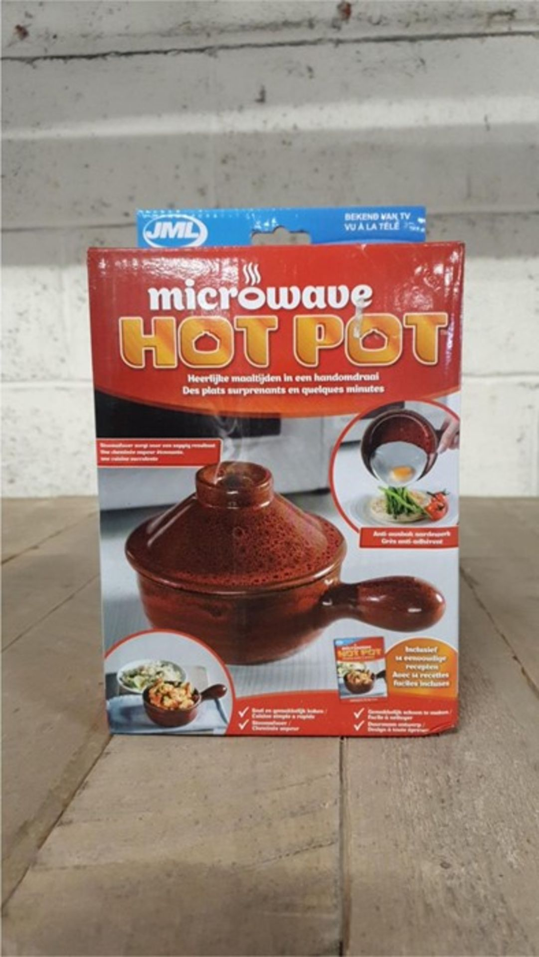 Lot 45 - 1 BOXED JML MICROWAVE HOTPOT CERAMIC POT (VIEWING HIGHLY RECOMMENDED)