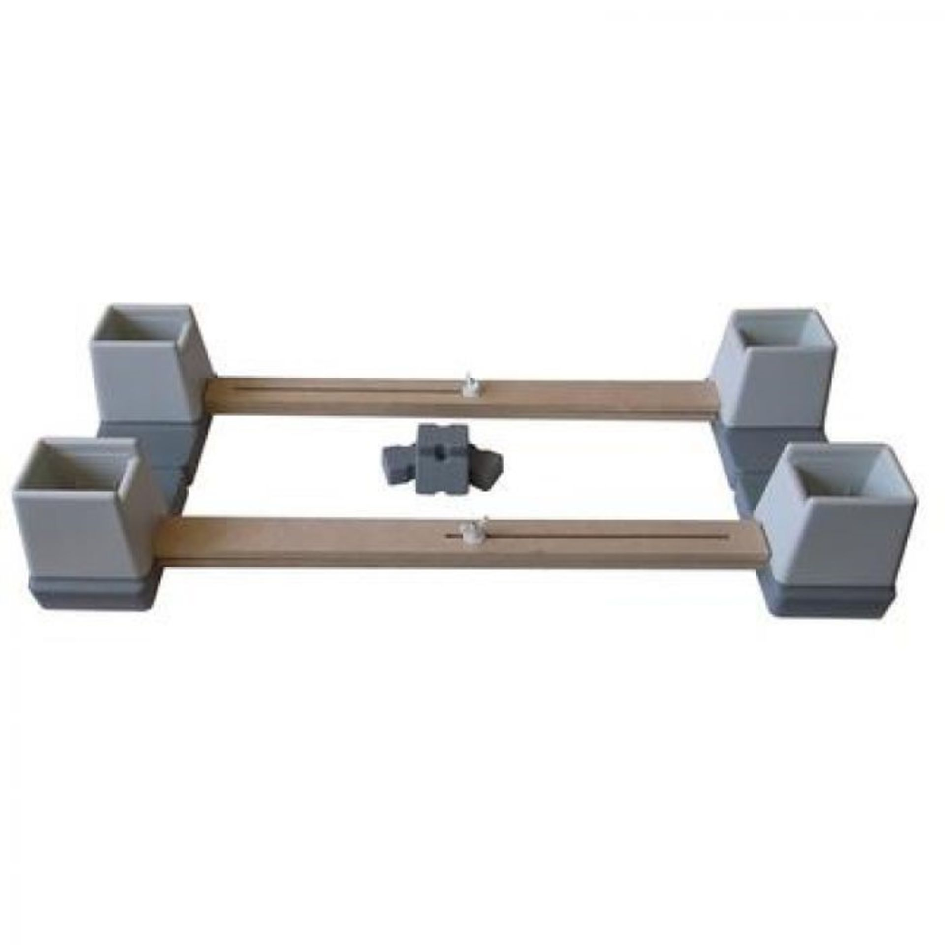 Lot 542AA - ME: 1 AS NEW BOXED LANGHAM ADJUSTABLE BED RAISING UNIT / RRP £88.00 (VIEWING HIGHLY RECOMMENDED)