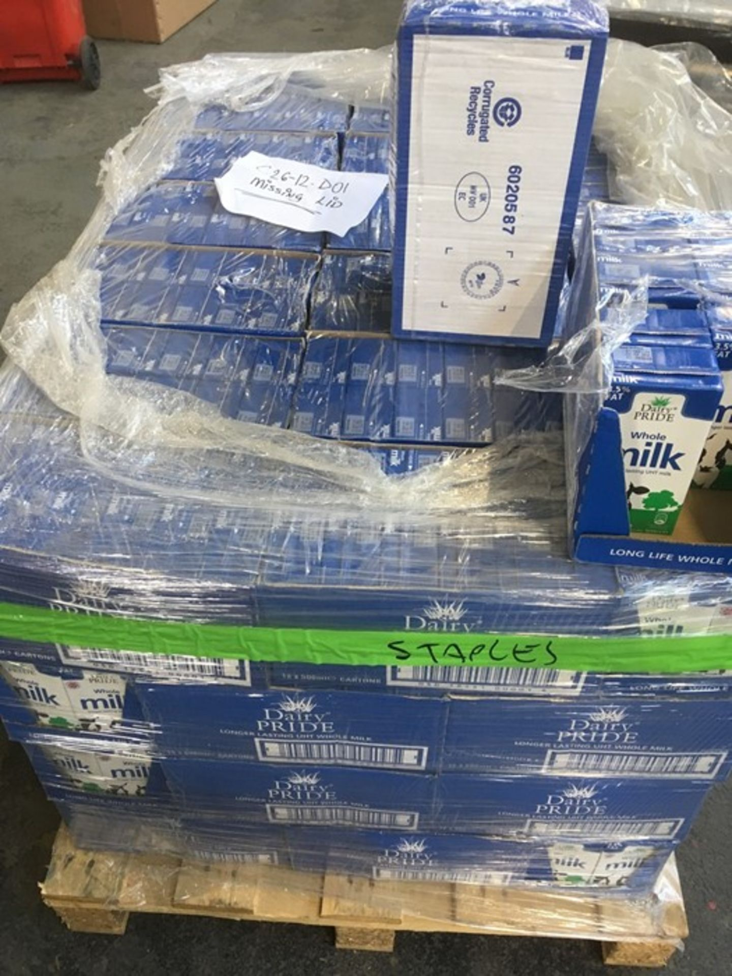 Lotto 86 - 1 LOT TO CONTAIN ASSORTED OFFICE SUPPLIES / INCLUDING BINS, CELLOTAPE AND ZIP TIES / PN - 678 (