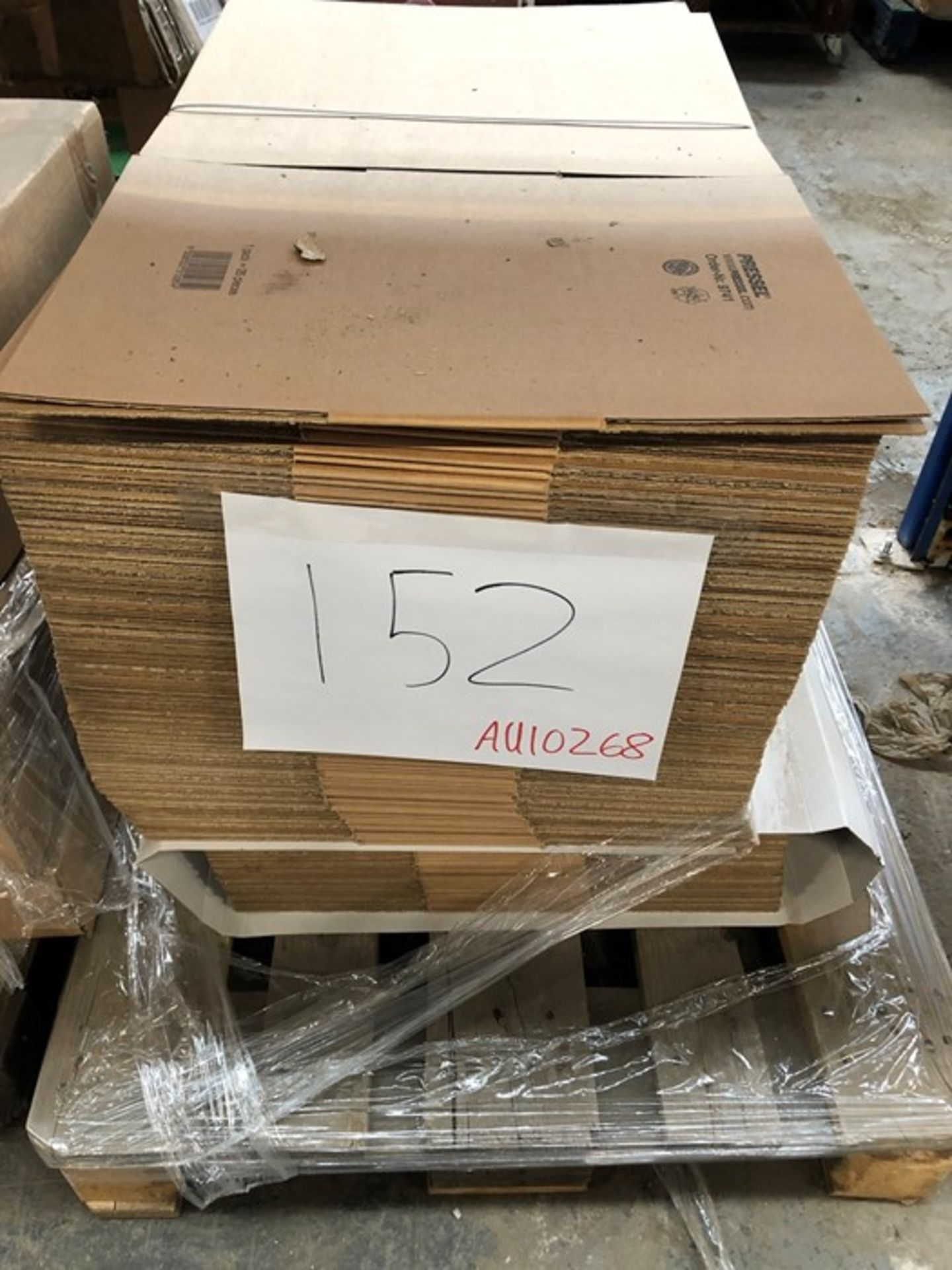 Lotto 115 - 1 LOT TO CONTAIN ASSORTED CARDBOARD BOXES / PN - NPN (PUBLIC VIEWING AVAILABLE)