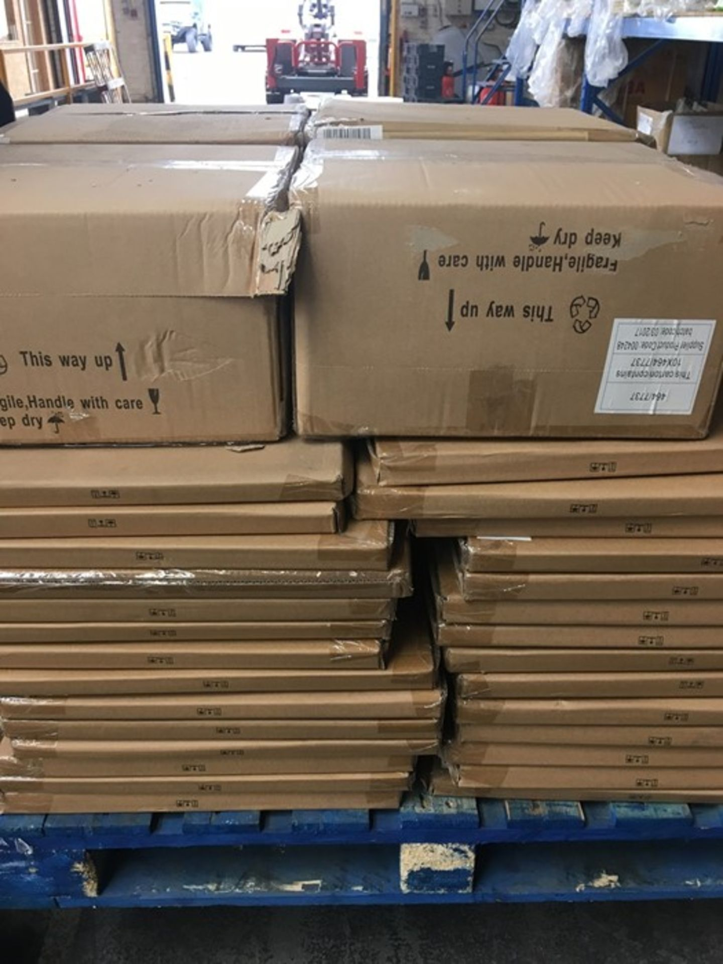 Lotto 9 - 1 LOT TO CONTAIN 56 HEDGEHOG CANVASES AND 40 SET OF 3 EXOTIC BUTTERFLY CANVASES (VIEWING HIGHLY
