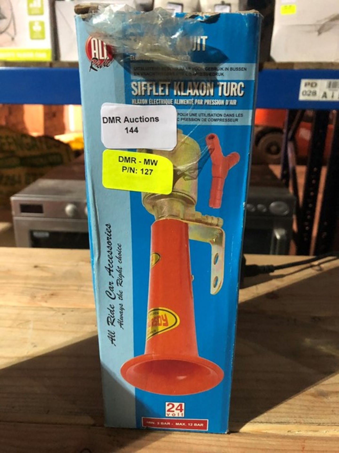 Lot 144 - 1 BOXED ALL RIDE TURKISH WHISTLE / RRP £20.00 (PUBLIC VIEWING AVAILABLE)