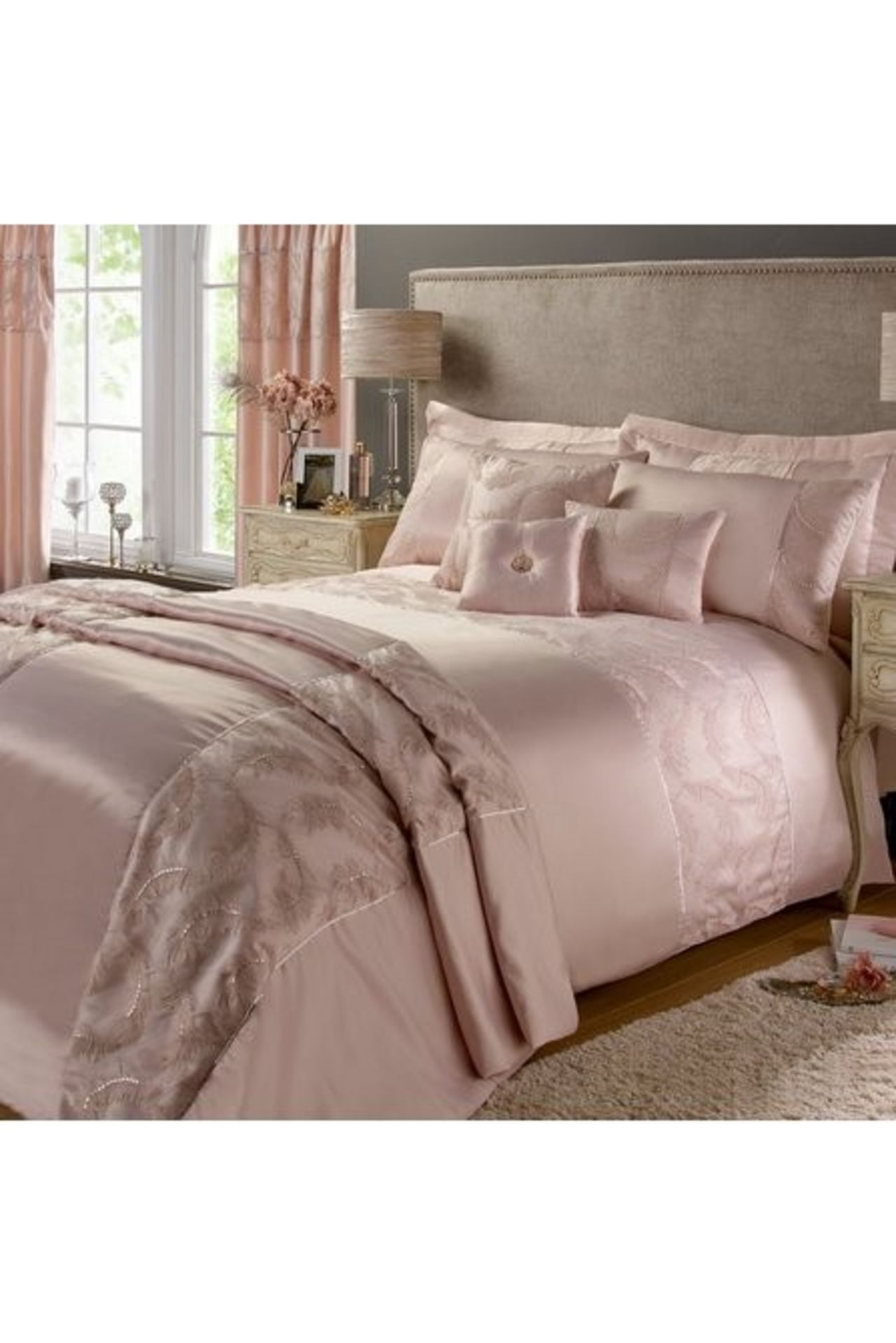 Lot 17 - 1 BAGGED METALLIC BUTTERFLY BEDSPREAD / RRP £74.99 (PUBLIC VIEWING AVAILABLE)