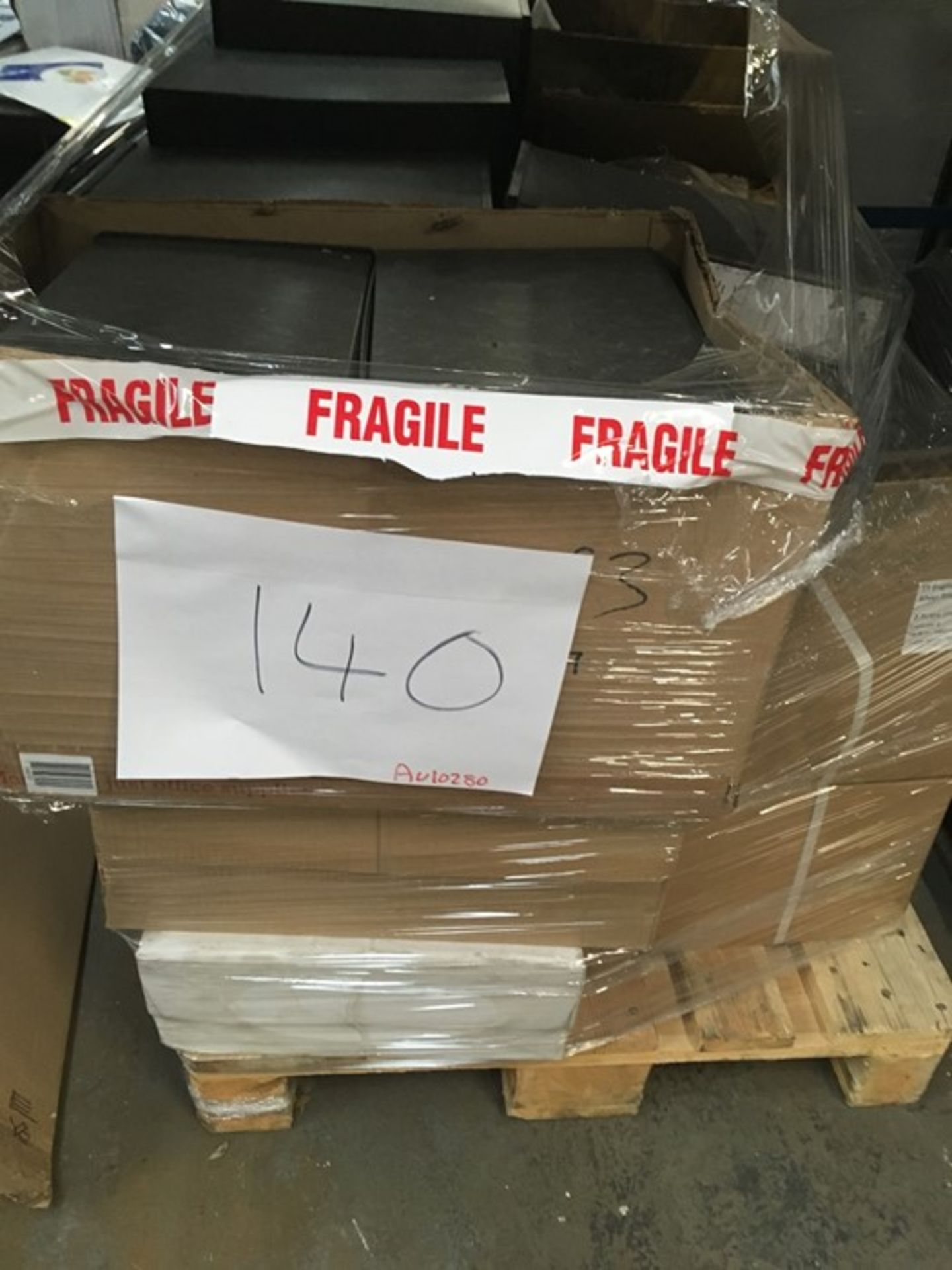 Lot 63 - 1 LOT TO CONTAIN ASSORTED STATIONARY EQUIPMENT / INCLUDES CUP DISPENSERS, FOLDERS, INVOICE PAPER,