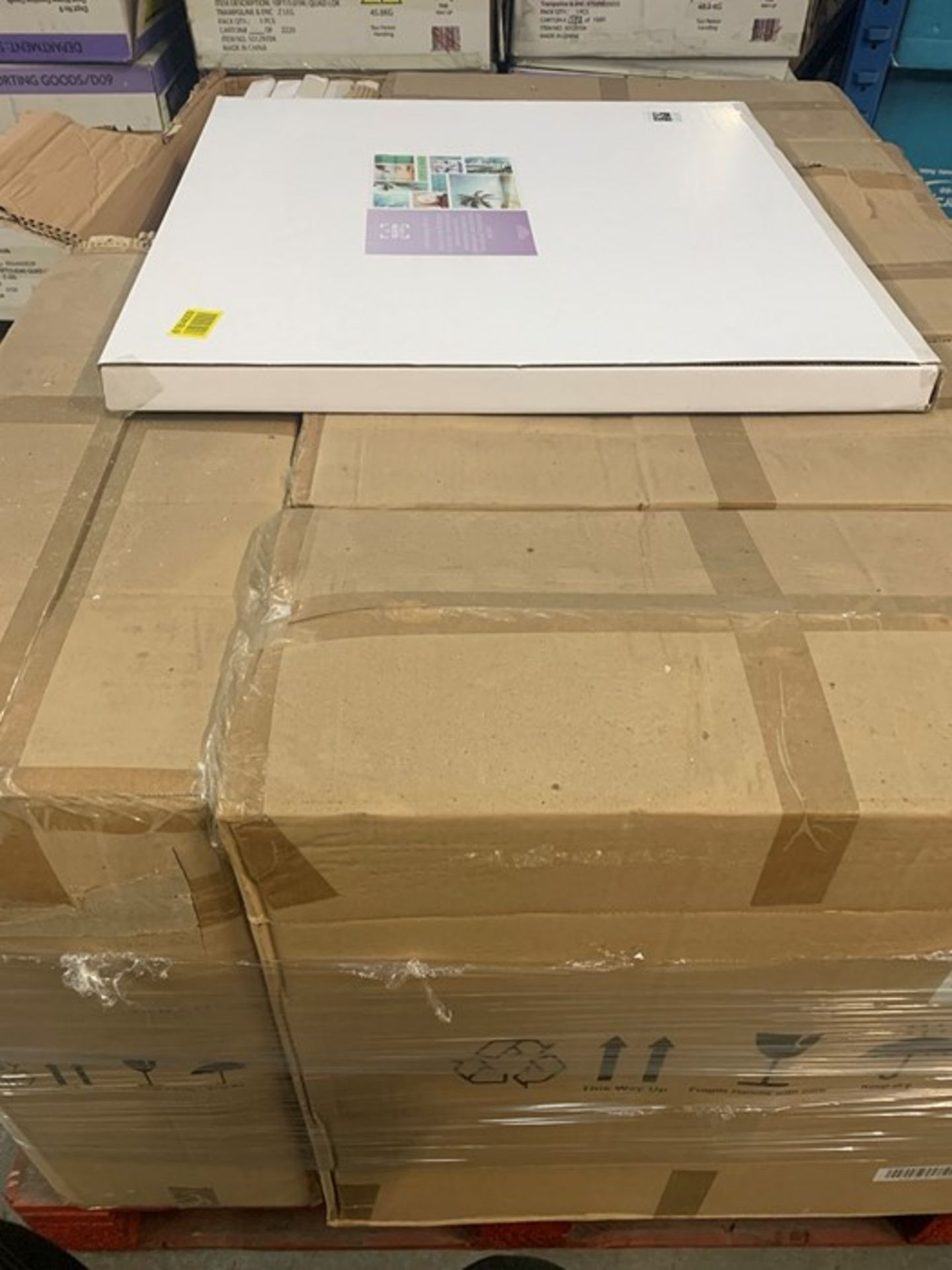 """Lot 26 - 1 LOT TO CONTAIN APPROX 6 AS NEW BOXES OF """"SUN, SEA AND SAND"""" WALL ART CANVASES / APPROX 6"""