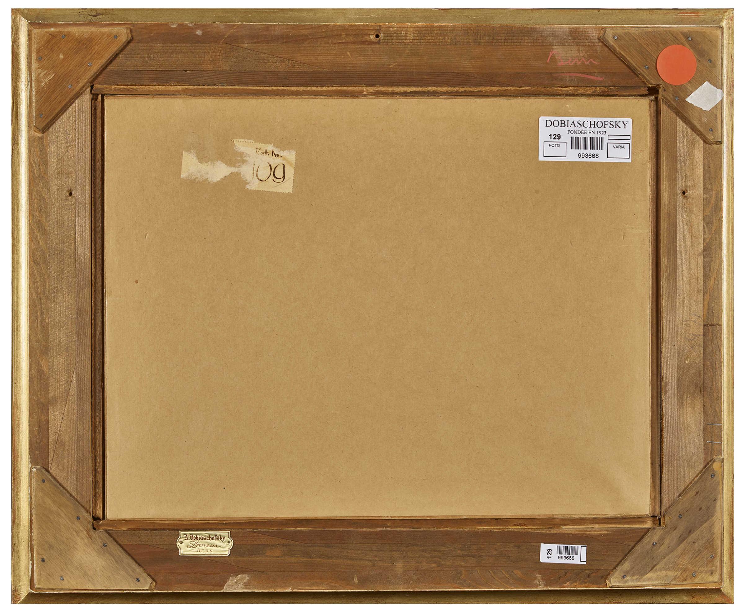Lot 17 - ANKER, ALBERT1831 Ins 1910Grossvater.Aquarell über Bleistift,sig. u.l.,24x34 cm (LM)Ausstellung: