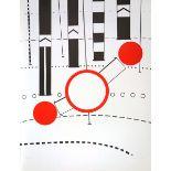 Brüning, PeterFarbserigraphie auf Papier, 77,6 x 59,3 cmUmleitung (1969)Signiert und datiert.
