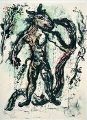 Chagall, MarcFarblithographien auf doppelbogigem Velin mit rückseitigem Text in französischer