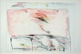 Bohrmann, Karl HeinzAlulithographien auf PapierMappe 2 (1969/76)Die Mappe enthält 6 Blatt vom