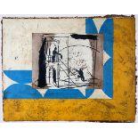 Brisson, Pierre-MarieFarbradierung und Collage auf handgeschöpftem Bütten, 52,7 x 66,2 cmSerenade (