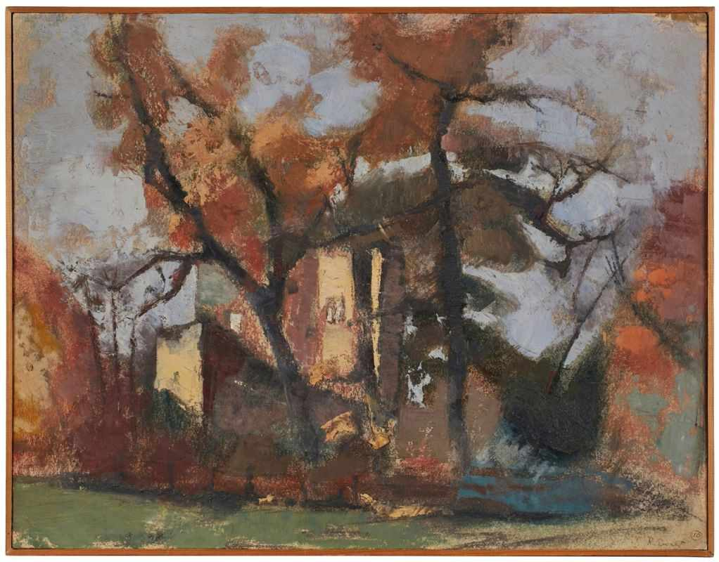 Lot 54 - Gemälde Reinhold Ewald1890 Hanau - 1974 Hanau 1906-07 an der Hanauer Zeichen-Akad. 1907-11 KGS