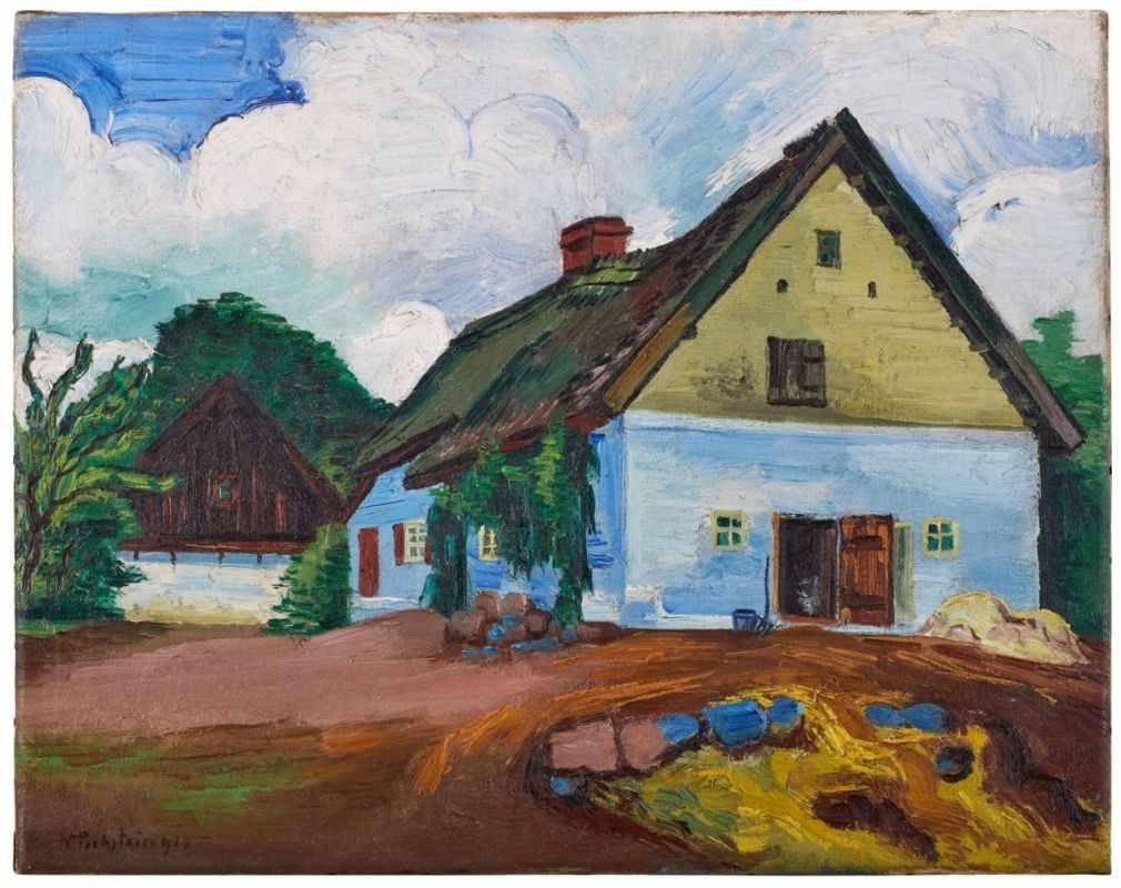 Lot 20 - Gemälde Hermann Max Pechstein1881 Zwickau - 1955 Berlin Zwischen 1927 und 1933 verbrachte