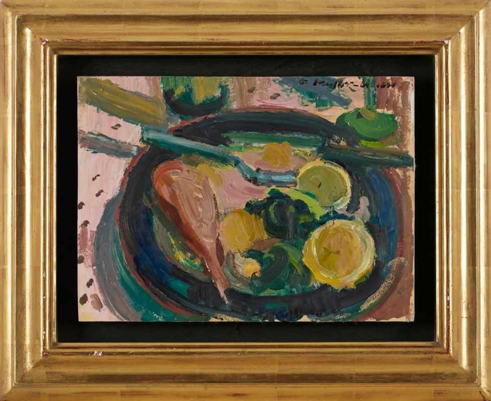 Lot 58 - Gemälde Bruno Müller-Linow1909 Pasewalk - 1997 Hochscheid Ausbildung in Berlin bei Willy Jaeckel,