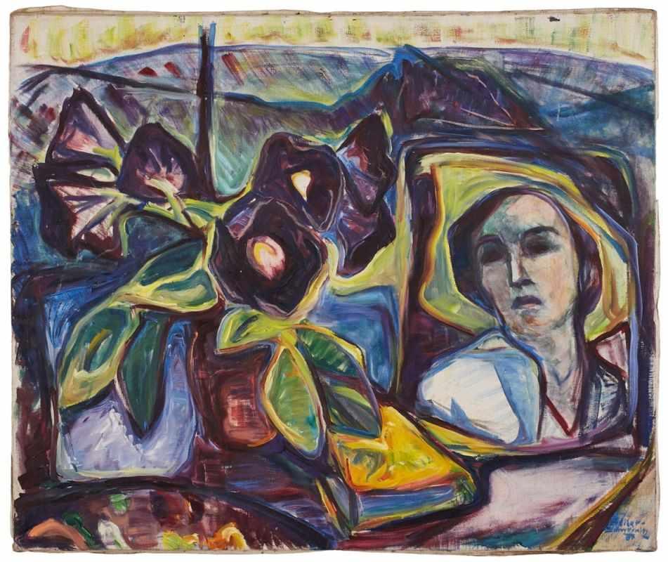 Lot 57 - Gemälde Maria von Heider-Schweinitz1894 Darmstadt - 1974 Frankfurt Aus schlesischem Uradel stammende