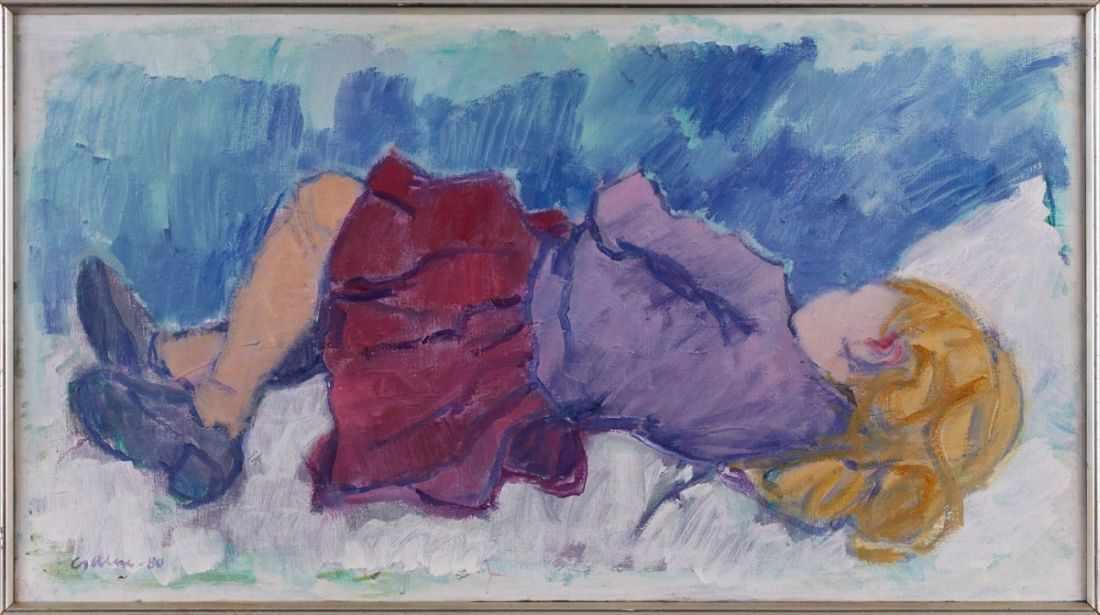 Lot 55 - Gemälde Theo Garvé1902 Offenbach - 1987 Hamburg Studierte 1922-24 in Offenburg bei Richard Throll,