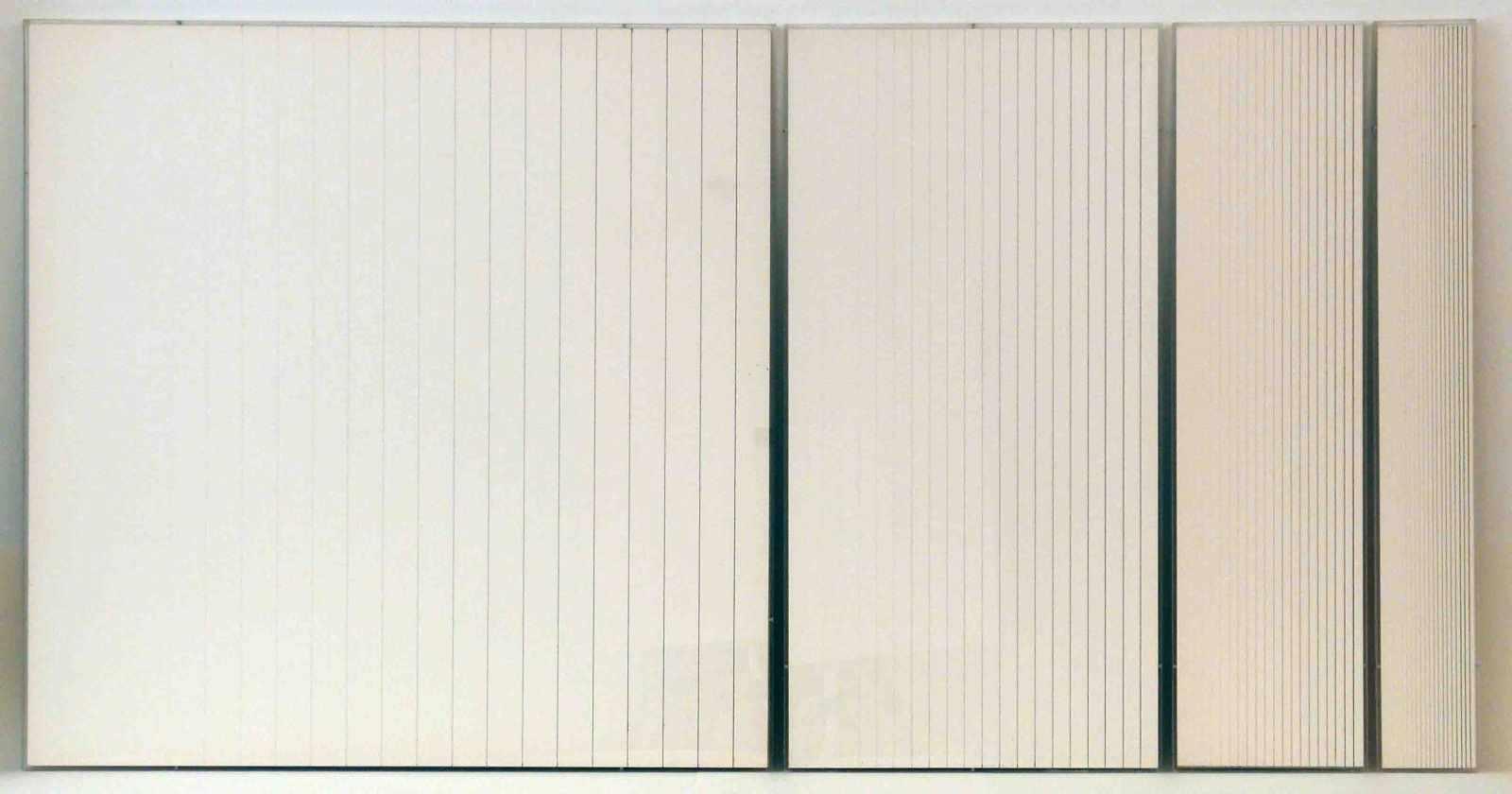 Lot 29 - Hartmut BöhmKassel 1938 - lebt in Berlin20 Bleistiftstriche 10 H – 8 B. P1 – P4. Sequenz von vier