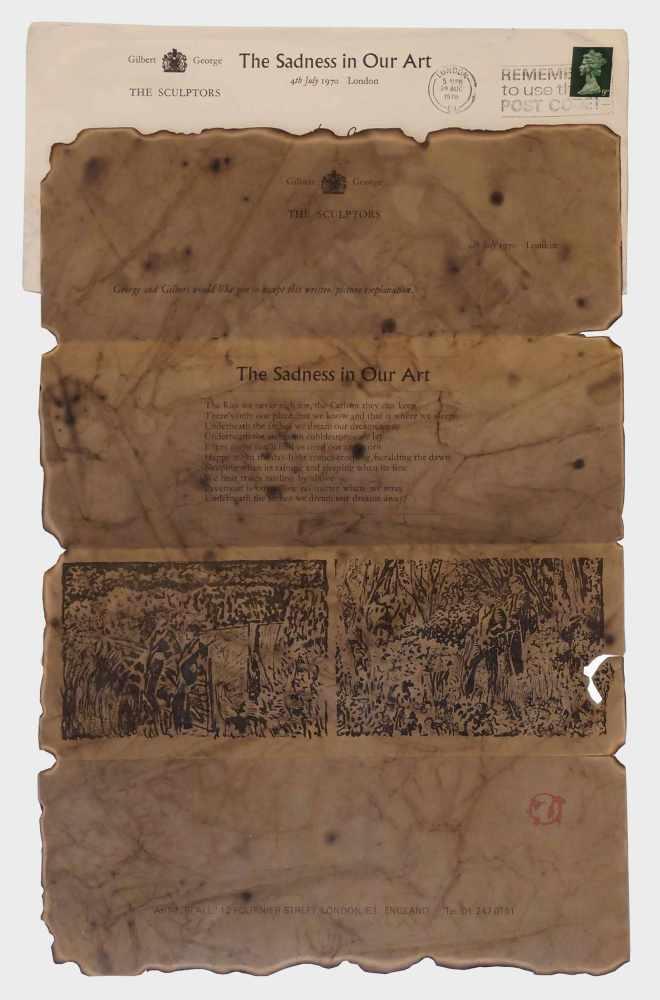 Lot 77 - Gilbert & Georged.s. Gilbert Prousch, St. Martin in Thurn/Südtirol 1943 und George Passmore,