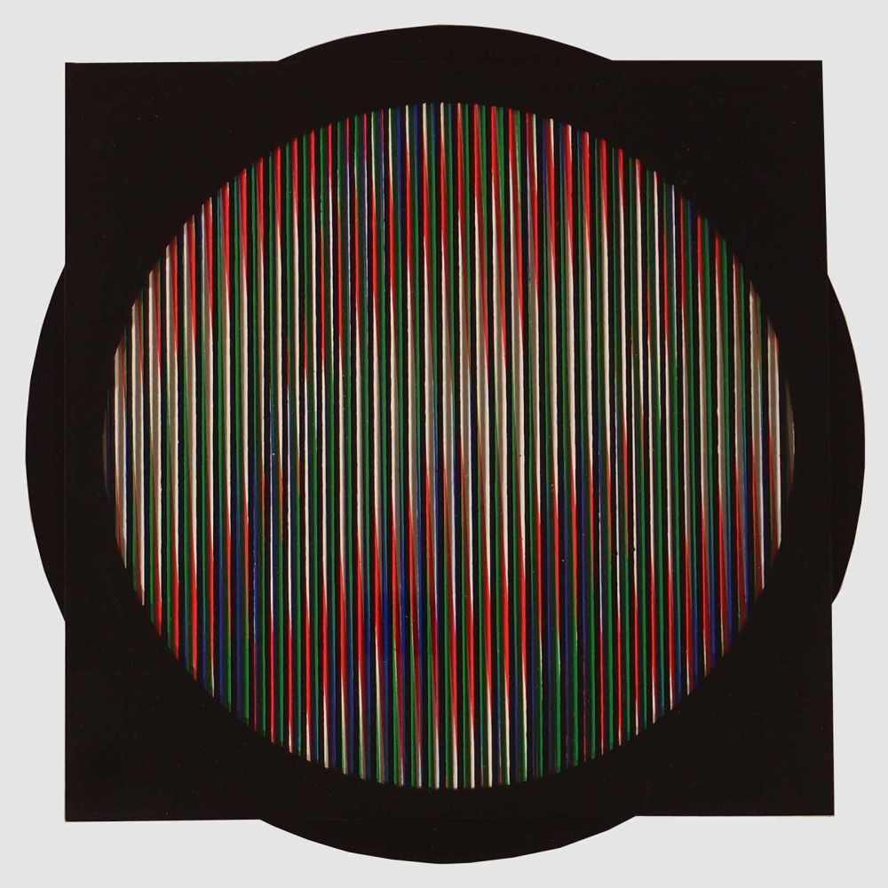 Lot 48 - Carlos Cruz-DiezCaracas 1923 - 2019 ParisChromointerférence manipulable. Farb. Siebdruck auf