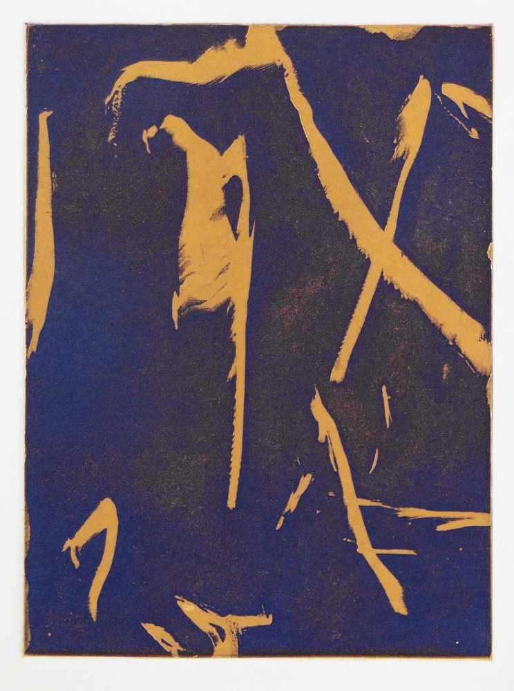 Lot 89 - Daniel HeesDüsseldorf 1939 - lebt in Köln6 Bll. farb. Aquatintaradierungen in: Monet didn`t hunt.