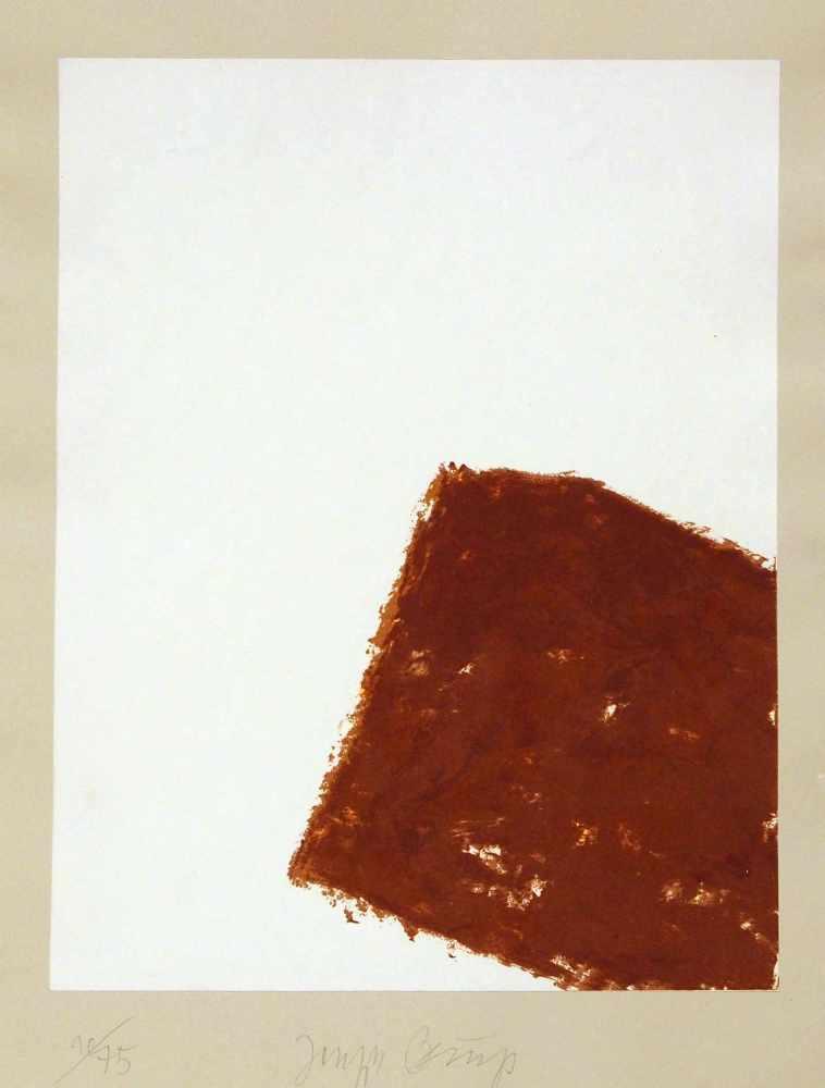 Lot 22 - Joseph BeuysKrefeld 1921 - 1986 DüsseldorfWandernde Kiste I-V. 5 Bll. Lithographien. 1980. Jeweils