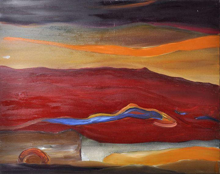Lot 10 - Unbekannt, um 2000Abstrakte Komposition. Öl/ Leinwand, 80 x 100 cm, ohne Rahmen.- - -25.00 % buyer's