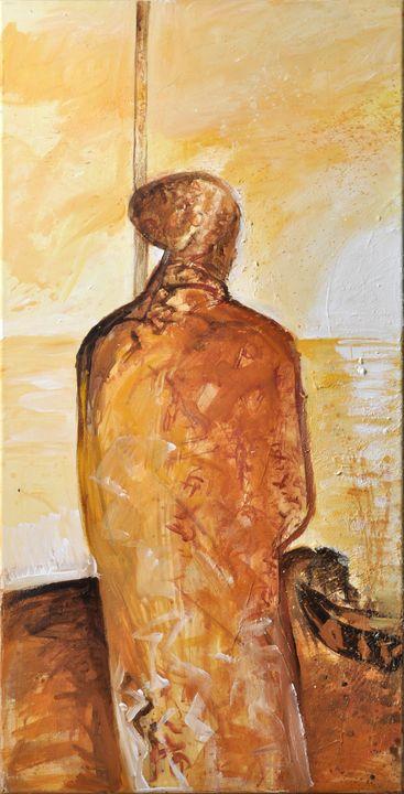 Lot 14 - Voigt, Anita. Geb. 1961 Dresden, lebt und arbeitet ebd.Triptychon. 2005. Öl/ Leinwand, ein Teil