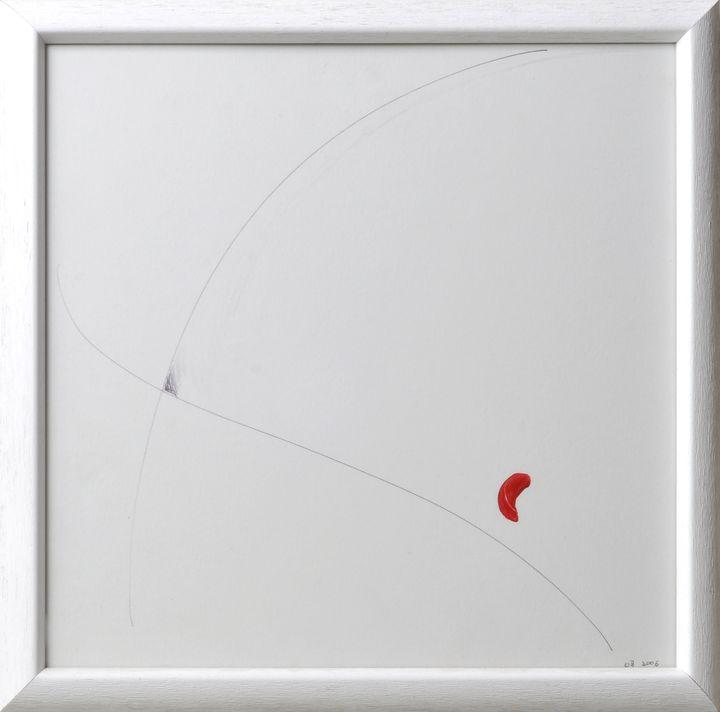 Lot 59 - Böhme, OlafO.T. Abstrakte Komposition, 2006. Mischtechnik in Kugelschreiber und Deckfarbe, re. u.