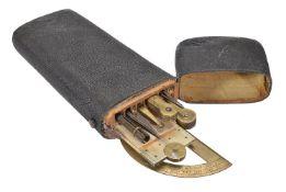 ϒ A George III shagreen etui of drawing instruments