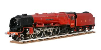 A fine exhibition quality 5 inch gauge model of a London Midland and Scottish 4-6-2 Duchess of Athol
