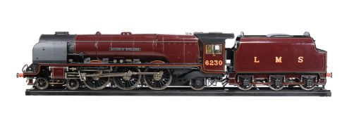 A very fine exhibition quality 7¼ inch gauge model of the Sir William Stanier London Midland and Sco