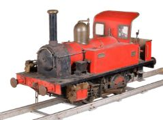 A well engineered 7¼ inch gauge model of an 0-4-0 side tank locomotive No. 1584 William