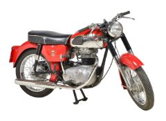 A restored 1963 Matchless 250 Sport Motor Cycle