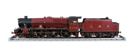 An exhibition quality 5 inch gauge model of a London Midland and Scottish Railway Royal Scott Class